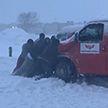 На США обрушился снежный шторм – зафиксировано уже больше полутысячи аварий