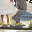 Жених и невеста превратили свадебный танец в пятикилометровый забег