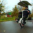 Пенсионер из Витебского района изобрел велосипед для пожилых. Чем он отличается от обычного?