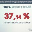 ЦИК: явка избирателей на парламентских выборах на 9.00 составила 37,14%