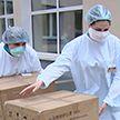 Борьба с COVID-19: неравнодушные белорусы продолжают оказывать поддержку медикам