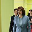 Новую школу в Каменной Горке посетила Наталья Кочанова