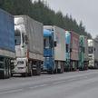 На границе с Евросоюзом образовались очереди из большегрузов