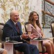 Александр Лукашенко встретился с активом БРСМ