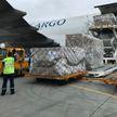 Очередной гуманитарный груз со средствами индивидуальной защиты из Китая доставили в Беларусь