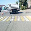 7-летнюю девочку на пешеходном переходе в Полоцке сбил грузовик