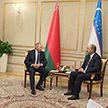 Состоялась встреча Мирзиёева и Румаса в канун открытия саммита ШОС