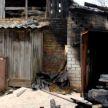 В агрогородке Индура в огне оказались частные гараж и хозпостройка.  Возможно, причастны школьники