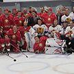 Команда Президента Беларуси по хоккею одержала победу над  сборной Могилёвской области