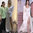 Жена Бибера появилась на мероприятии в платье русского дизайнера. Узнайте, в каком