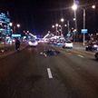 ДТП в Минске: мотоциклистка столкнулась с «Ладой»