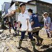 """Мощный тайфун """"Хагибис"""" в Японии: есть погибшие"""