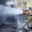 После взрыва кислородных баллонов в больнице Челябинска вспыхнул пожар