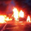 Страшная авария на трассе М1: машины сгорели после лобового столкновения, водители погибли