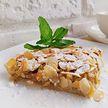 Яблочный пирог с нежной миндальной корочкой. Лёгкий рецепт от телеведущей Екатерины Тишкевич