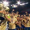 Матч за Суперкубок страны по футболу прошел в России