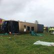 Двухэтажный автобус перевернулся на западе Англии, пострадали 40 человек
