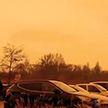 В странах Европы выпал жёлтый, оранжевый и розовый снег