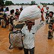 Проливные дожди обрушились на Индию