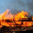 Пожар в Глубокском районе: погибла женщина