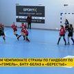 В женском чемпионате Беларуси по гандболу «Гомель» уступил брестскому «Берестью»