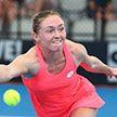Александра Саснович вышла в основную сетку теннисного турнира в Сиднее