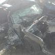 В Солигорском районе Volvo въехал в дерево, пострадали четыре человека