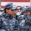 Военно-патриотический клуб открылся на базе спецназа в Минске