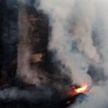 Пожар в деревне Гажин: спасатели обнаружили пенсионера с ожогами лежащим на земле в 40 метрах от дома
