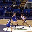 Женская баскетбольная команда «Цмокі-Мінск» победила в заключительном матче группового этапа Кубка ФИБА-Европа