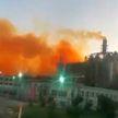 Мощный взрыв прогремел на азотном заводе в Турции