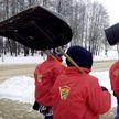Молодежь Могилевщины  присоединилась к акции «Уберем снег вместе»
