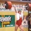 Белорусский тяжелоатлет Леонид Тараненко отмечает 65-летие