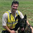 Слишком доброго пса уволили из полиции. Теперь у него новое место работы – он счастлив