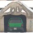 Житель Казахстана оборудовал гараж в юрте