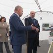 Александр Лукашенко посещает предприятие «МАПИД»