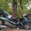 ДТП в Поставском районе: Opel врезался в дерево. Двое погибли, один пострадал