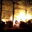 Пожар в Калинковичском районе: горел склад