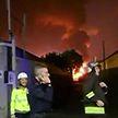 Мусороперерабатывающий завод горит в Милане