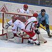 Хоккейная команда Президента Беларуси выиграла у сборной Балтии в матче Рождественского турнира
