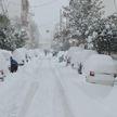 Снегопады накрыли Грецию: в Афинах закрыты школы