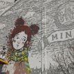 Новый мурал нарисовали в центре Минска
