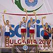 Сборная по прыжкам на батуте привезла золото с чемпионата мира в Санкт-Петербурге
