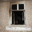 В Могилеве спасли семью на пожаре