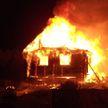 При пожаре в Миорском районе погибла женщина
