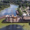Масштабные работы по реконструкции аварийного моста через Мухавец ведутся в Кобрине