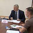 В Жлобине помощник Президента Валерий Бельский провел прием граждан