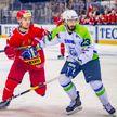 Белорусские хоккеисты уверенно обыграли словенцев во второй игре «Кубка четырёх наций»