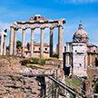 В Риме обрушилась часть стены древнего Форума