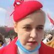 Курьез на грани избиения: беглая оппозиционерка Карач напала на литовского блогера